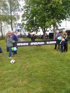 opening speeltuin Elsbeekstraat