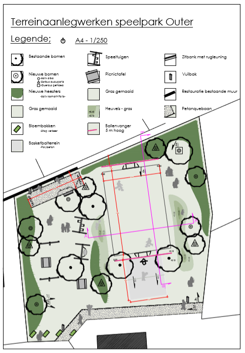 plan speelterrein Outer